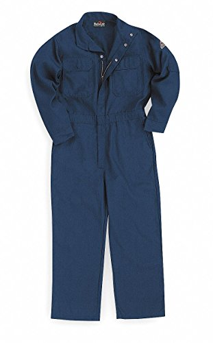 Nomex IIIA, Flame-Resistant Coverall, Size: 3XL, Color Family: Blues, Closure Type: Zipper ()
