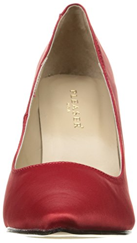 Donna 20 Pumps Classique Da Red Satin Pleaser qIB5x
