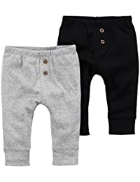Baby Boys 2-Pack Striped Pants