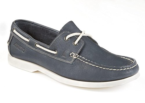 Musto Herren Bootsschuh Nautic Bay, Größe:41.5, Farbe:White