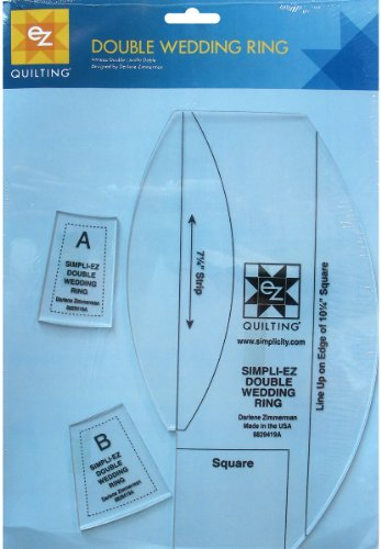 Double Wedding Ring Template - 3 Pack 1 pcs sku# 1076976MA by Wright's