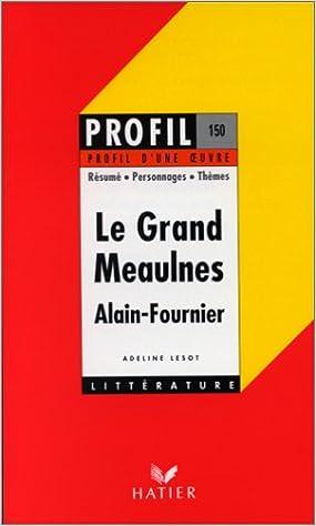 Lire Le Grand Meaulnes. pdf, epub ebook