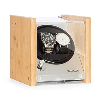 Klarstein Hanoi 2 Estuche Giratorio • Máquina para 2 Relojes • 3 Tipos de rotación •