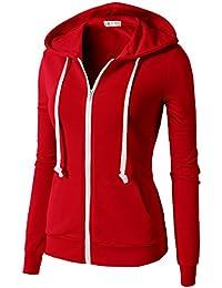 Amazon.com: Red - Fashion Hoodies & Sweatshirts / Clothing ...