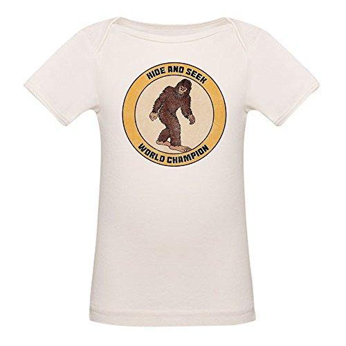 Organic Cotton Tee World (CafePress Hide and Seek World Champion - Organic Cotton Baby T-Shirt)