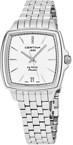 Certina DS Prime C028.310.11.116.00 Wristwatch for women with genuine diamonds