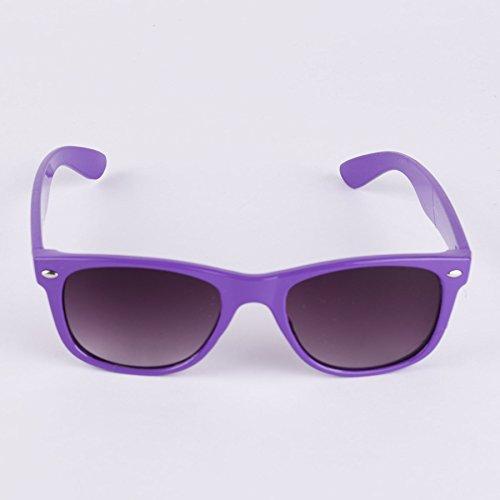 Style Soleil Lunettes Années Pointus De Bords 50 Violet à Unies Montures 0qnATqZw