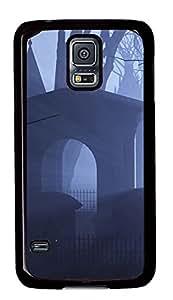Samsung Galaxy S5 Case,Samsung Galaxy S5 Cases - Cryptic Cemetery Custom Design Samsung Galaxy S5 Case Cover - Polycarbonate¨CBlack