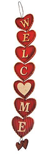 Valentine Door (Wooden Valentine Heart