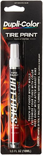 Dupli-Color HT100 White Hot Tire Paint Pin - 1/3 ()