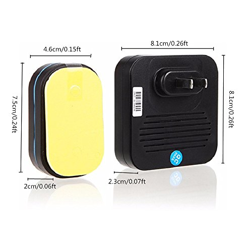 Wentop wireless doorbell kit door ring bell for Kids room doorbell