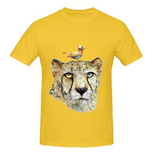Cheetah Men O Neck Diy T Shirt (Hetalia Russia Halloween)