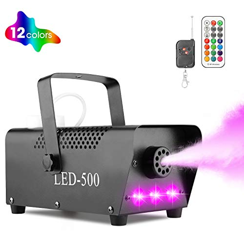 Halloween Fog Machine with Lights