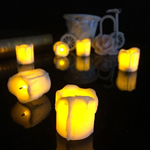 (Led Night Lights - 4.34.5cm Battery Powered Flameless Led Candle Tea Night Light Halloween Christmas Decoration - Led Electronic Candle Tealight Candles Battery Operated Lights Flameless - 1PCs)
