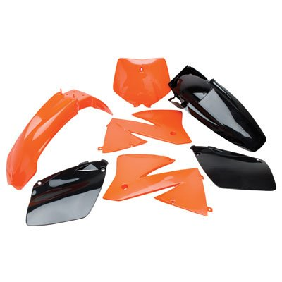 Polisport Complete Replica Plastic Kit Original 01 for KTM 300 EXC 2001-2002