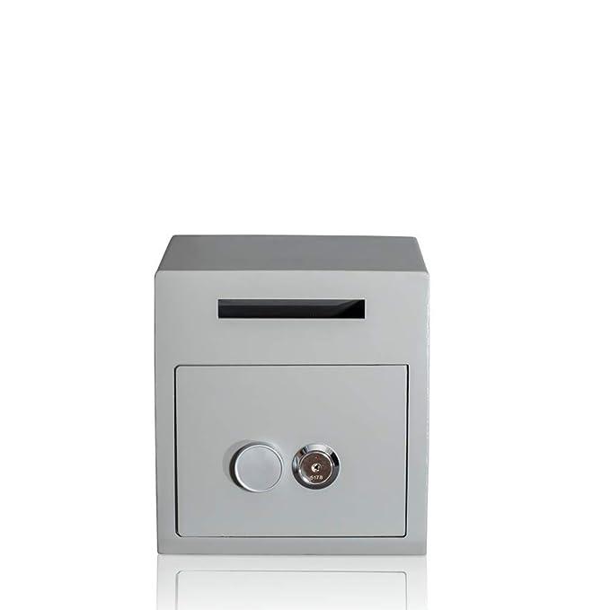 Caja fuerte tipo buzón | Principio de los cuatro ojos | 2 cerraduras: Amazon.es: Bricolaje y herramientas