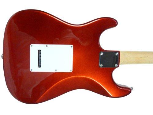 Aria STG003R - Guitarra Stratocaster, color rojo: Amazon.es: Instrumentos musicales