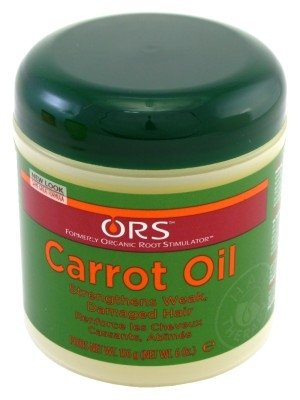 (ORS Carrot Oil Hair Creme 6 oz ( Pack of 3))
