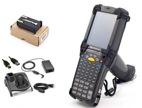 Zebra MC92N0-G Starter Kit w/ CRD9000-1000 Charger Cradle: MC9200 Barcode Scanner SE965 1D, Windows Embedded Compact 7.0 (Ce 7), Wireless Rugged Warehouse Handheld by Symbol Zebra (Image #2)