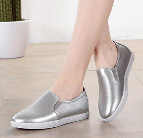 ocasionales otoño tacón ronda con La de pie zapatos de para pendiente bajas conjuntos zapatos los bajo zapatos los elevador primavera los a los del zapatos de 5 7 y Sra del ayudar mujeres las US6 wqwUvOIt
