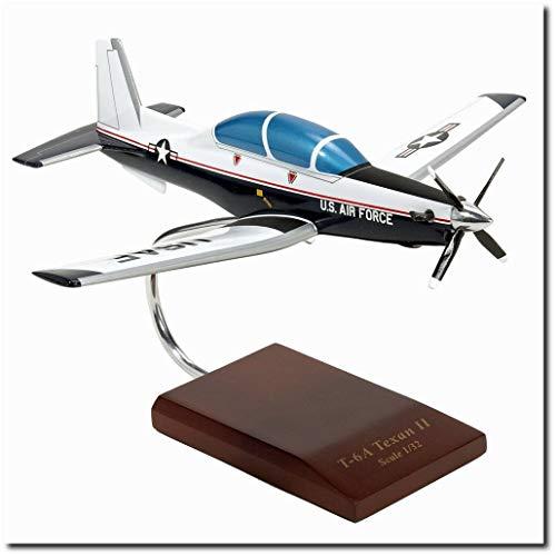Planejunkie Aviation Desktop Model - Beechcfaft T-6A Texan II USAF Model from Planejunkie