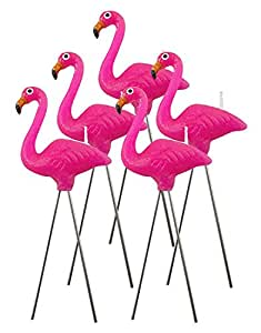 Amazon Com Nuop Design Pink Flamingo Wax Candles 5