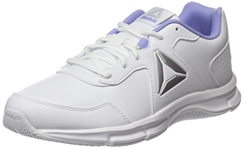 Express lilac white De Entrainement Reebok Metallic Chaussures Blanc Running Runner Glow silver Femme SpRZwq