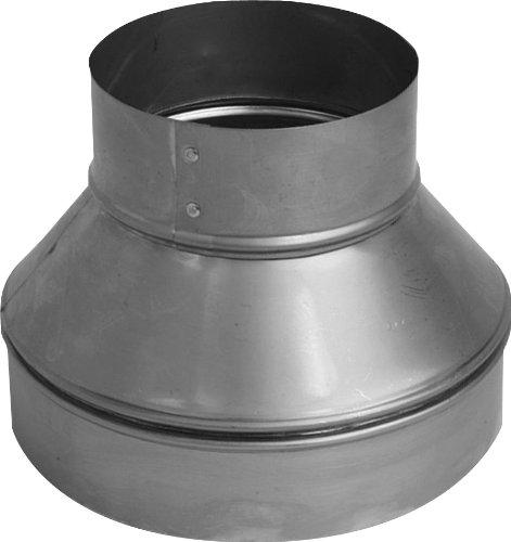 Speedi-Products SM-RDP 64 6-Inch by 4-Inch Round Galvanized Plain Reducer ()