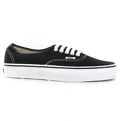 Vans Unisex Classic Authentic Sneakers Black/White