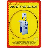 "SuperCut B82T58T4 Meat Bandsaw Blade, 82"" Long - 5/8"" Width; 4 Hook Tooth; 0.025"" Kerf"