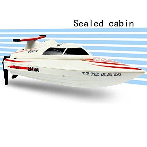 Ocamo Racing Barco de Juguetes teledirigidos de Alta Velocidad RTF 24 Km/h de WL911 4CH 2.4G