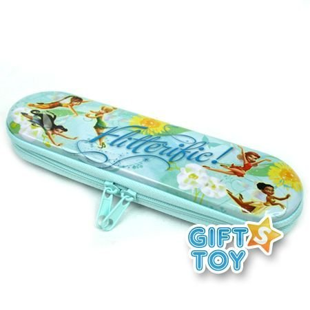 Disney Tinkerbell Tin Zipper Pencil Case