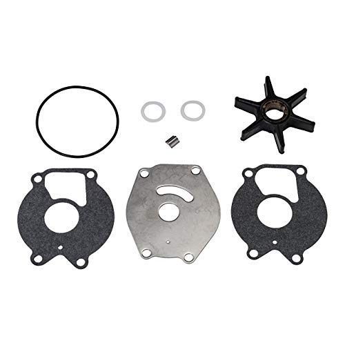 - Quicksilver 85089Q4 Water Pump Repair Kit - 15 through 25 Horsepower 2-Cycle Mercury and Mariner Outboards (Renewed)