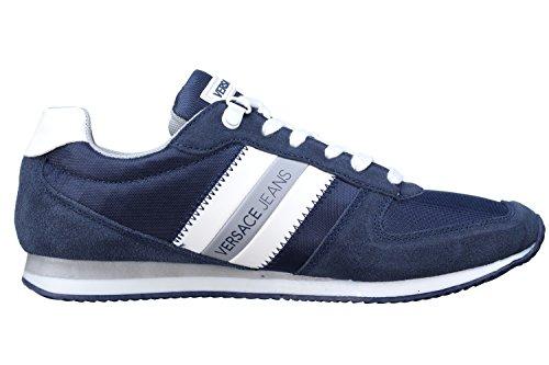 Versace Jeans Sneaker Uomo DisA3 Suede/Nylon E0YPBSA3239, Scarpe sportive