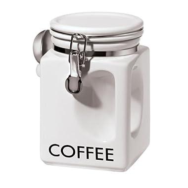 Oggi 5832.1 EZ Grip Coffee Canister, White