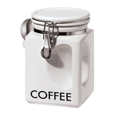 Oggi 5832 1 Coffee Canister White