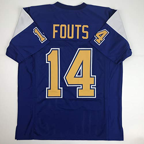 Unsigned Dan Fouts San Diego Blue Custom Stitched Football Jersey Size Men's XL New No Brands/Logos – DiZiSports Store