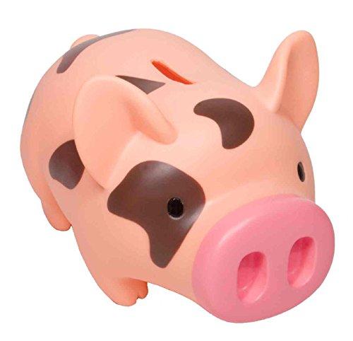 Money Bank Piglet Pink Brown product image
