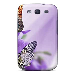 Cute Tpu FBurgess Purple Embraces Case Cover For Galaxy S3