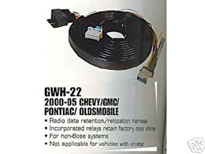 4112GR3PPAL._SX300_ amazon com stereo wire harness chevy colorado 04 05 (car radio 05 colorado radio wiring harness at crackthecode.co