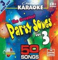 Chartbuster Karaoke Greatest Party Songs Volume 3 CD+G ()