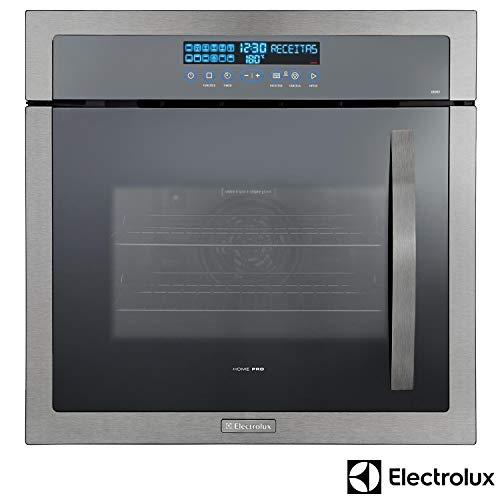Forno Elétrico de Embutir Electrolux Home Pro Inox 80L, Gril e Painel Blue Touch 220V - Forno Elétrico de Embutir...
