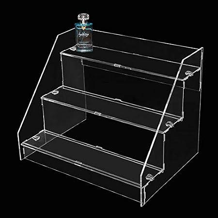 Desconocido Expositor para Botella de plexiglás – Escalera 46 x 35 x 36 cm: Amazon.es: Hogar