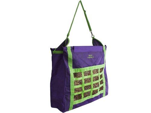 (Derby Originals Supreme Top Load Slow Feed Hay Bag, Purple)