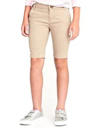 Sale School Skinny Uniform Bermudas for Girls!
