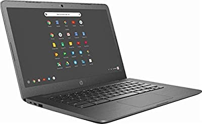 "2019 Newest HP 14"" Lightweight Business Chromebook-Intel Celeron Dual-Core Up to 2.4 GHz Processor, 4GB LPDDR4 RAM, 32GB SSD, Intel HD Graphics, WiFi, Chrome OS"