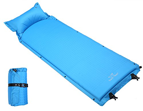 Trackman Lightweight Self Inflating Camping Pads and Mats