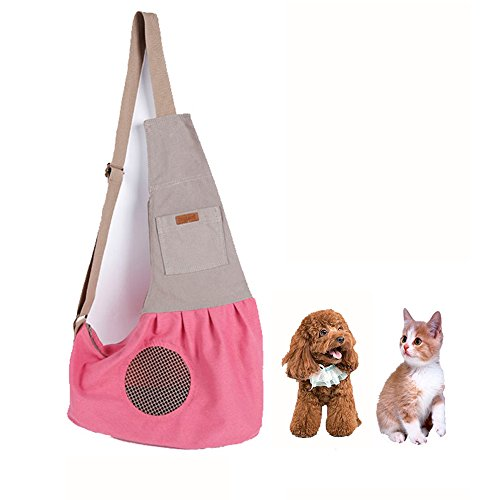 Cheap Pesp Pet Sling Carrier Bag with Adjustable Strap Dog Cat Portable Hands Free Outdoor Shoulder Bag