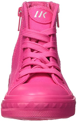 Lumberjack Mädchen phillie Hohe Sneaker Rosa (Fuxia)