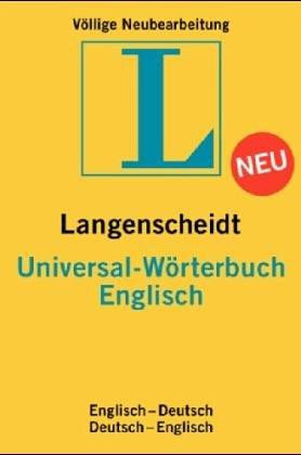 Langenscheidts Universal-Wörterbuch, Englisch (Mehrsprachig) Taschenbuch – März 2002 Holger Freese Helga Krüger Brigitte Wolters Mchn.